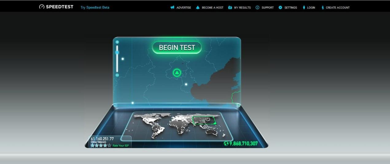 测速网站SpeedTest