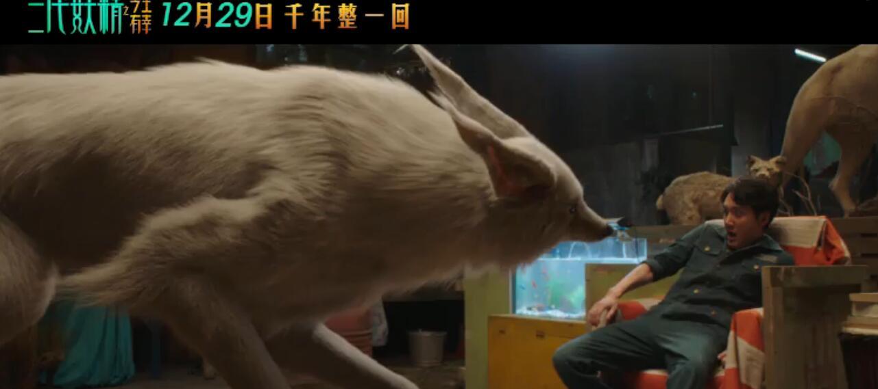 小白第一次变身白狐场景剧照3