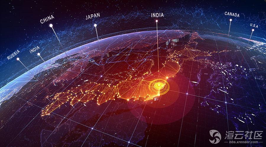 渲云接轨国际市场