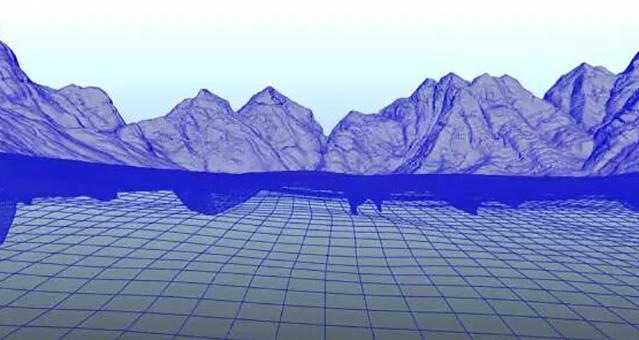 3D场景制作过程