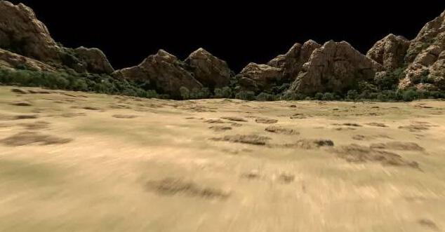 3D场景渲染测试效果